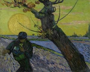 De Zaaier Van Gogh Yağlı Boya Sanat Kanvas Tablo