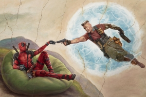 Deadpool-2 2018 Movie Poster DC Kanvas Tablo