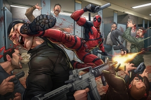 Deadpool-2 Fanart PC Kanvas Tablo
