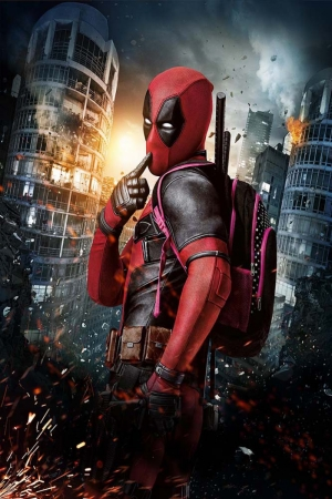 Deadpool-2 Film Afişi Sinema Kanvas Tablo