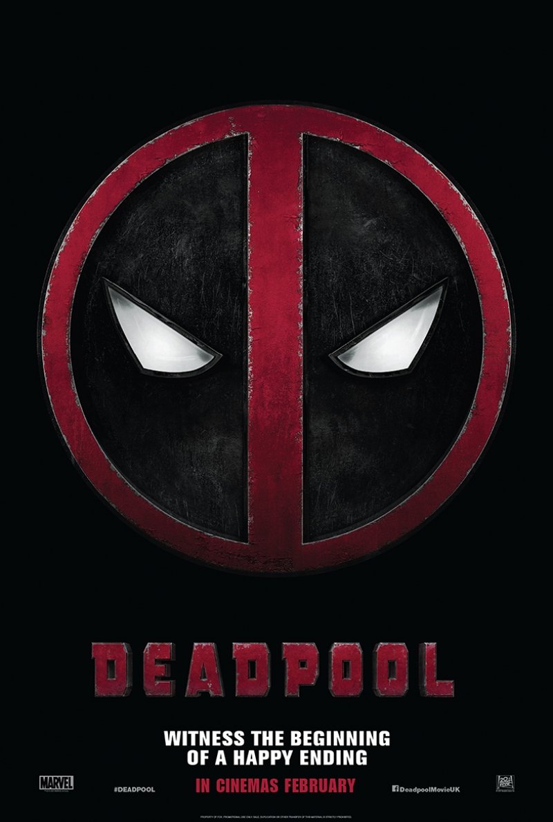Deadpool Afiş Süper Kahramanlar Kanvas Tablo