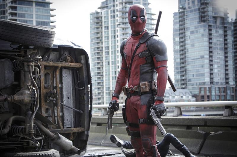 Deadpool Marvel 3 Sinema Kanvas Tablo