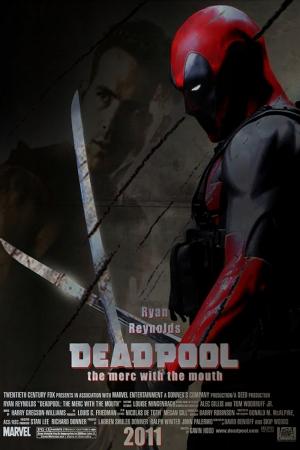 Deadpool Ryan Reynolds Sinema Kanvas Tablo