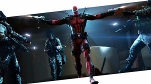 Deadpool Süper Kahramanlar Kanvas Tablo