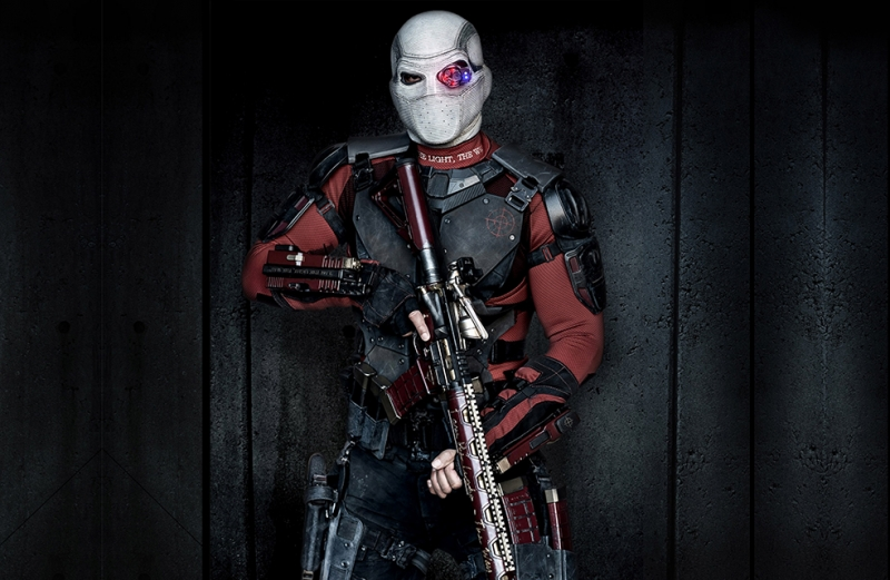 Deadshot Suicide Squad Will Smith Sinema Kanvas Tablo