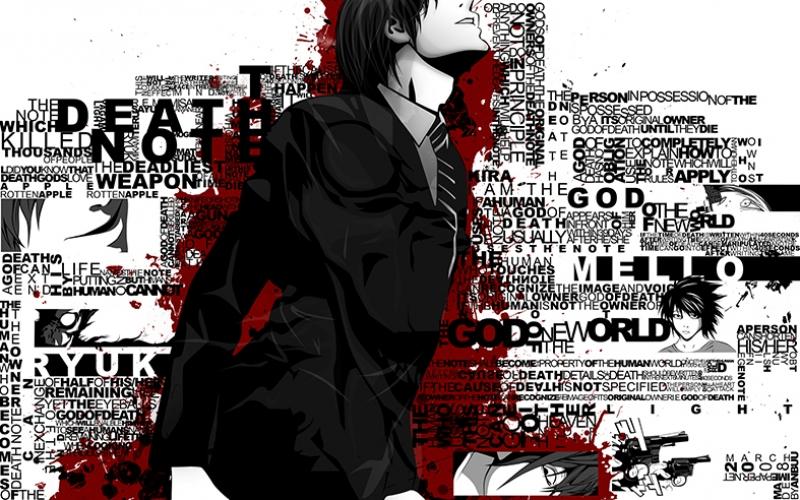 Death Note Anime Popüler Kültür Kanvas Tablo