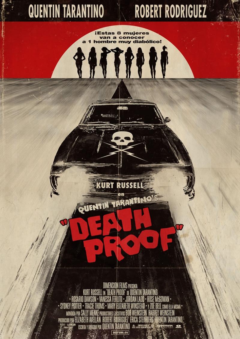 Death Proof Tarantino Tablo