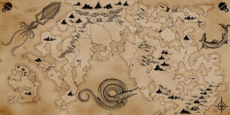 Define Korsan Haritalari Eski Haritalar 2 Cografya Kanvas Tablo