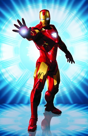 Demir Adam Iron Man Süper Kahramanlar Kanvas Tablo
