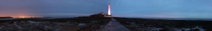 Deniz Feneri Panaromik Kanvas Tablo