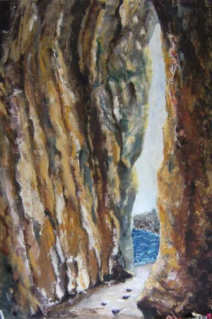 Denize Bakı-2 Manzara Sanat Kanvas Tablo