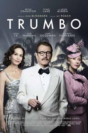 Diane Lane Bryan Cranston Helen Mirren Trumbo Film Afişi Sinema Kanvas Tablo