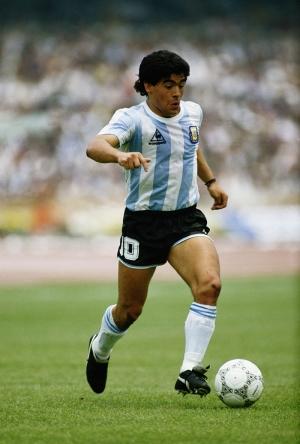 Diego Armando Maradona Arjantin Futbol Spor Kanvas Tablo