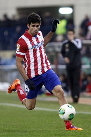 Diego Costa Atletico Madrid Futbol Spor Kanvas Tablo