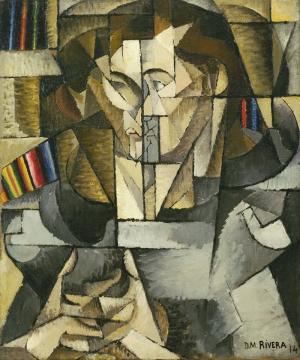 Diego Rivera Jacques Lipchitz Yağlı Boya Klasik Sanat Kanvas Tablo