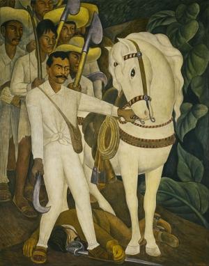 Diego Rivera Orak Ve At Yağlı Boya Klasik Sanat Canvas Tablo