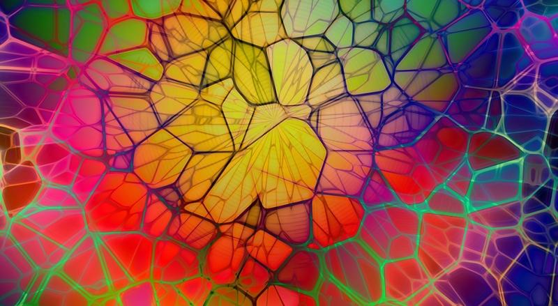 Dijital 27 Soyut Abstract Kanvas Tablo