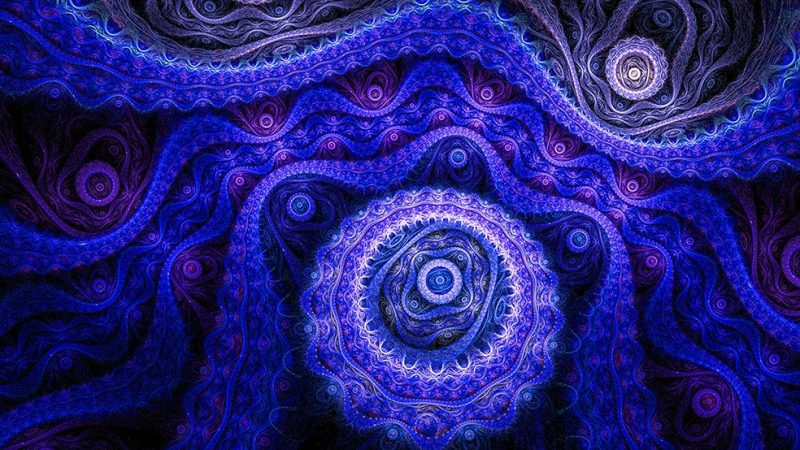 Dijital 40 Soyut Abstract Kanvas Tablo