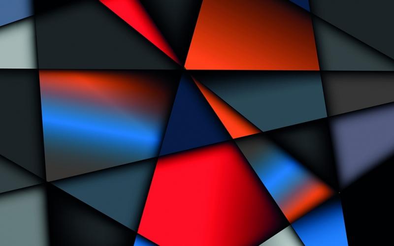 Dijital 42 Soyut Abstract Kanvas Tablo