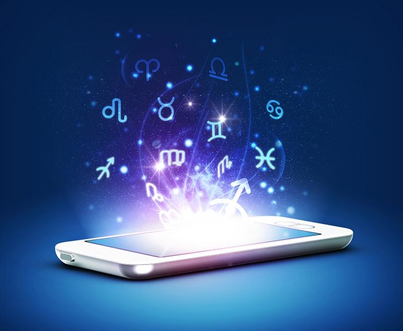 Dijital Burçlar Astroloji & Burçlar Kanvas Tablo
