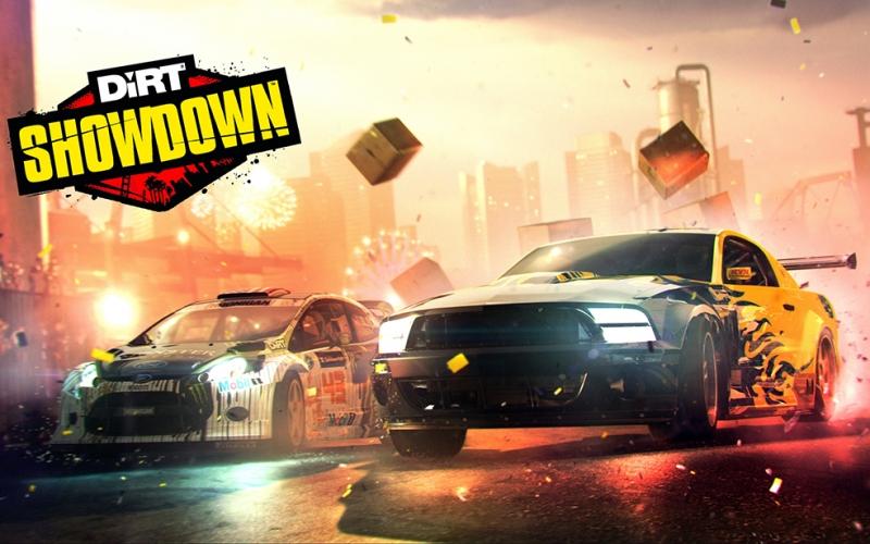 Dirt Showdown Otomobil Araçlar Kanvas Tablo