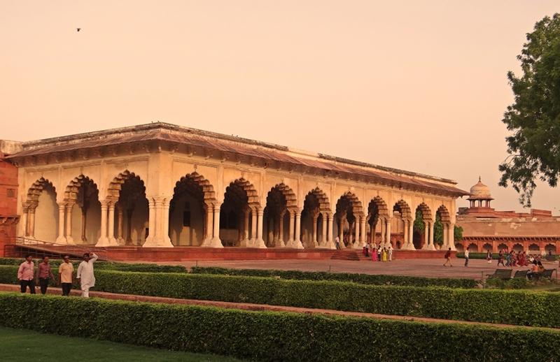 Diwan I Am Agra Fort Unesco Dünya Kültür Mirasları Kanvas Tablo