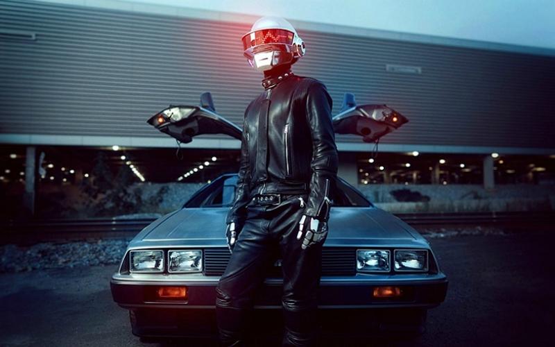 Dj Daft Punk Müzik 2 Popüler Kültür Kanvas Tablo