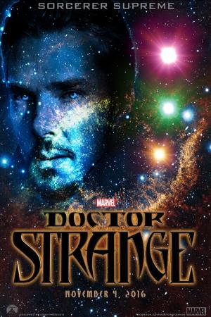 Doctor Strange Film Afişi Sinema Kanvas Tablo