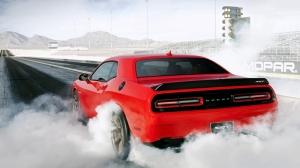 Dodge Challenger Srt Hellcat Spor Otomobil Araçlar Kanvas Tablo