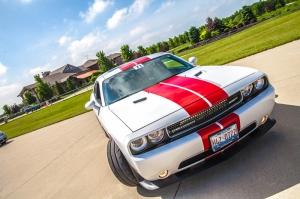 Dodge Charger Spor Otomobil Kanvas Tablo