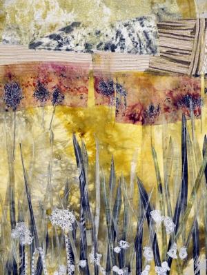 Doğa Abstract Soyut Kompozisyon Yağlı Boya Sanat Kanvas Tablo