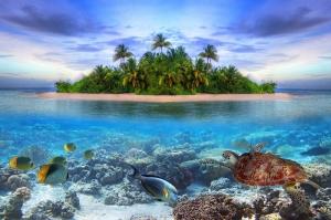 Doğa Deniz Göl Dağ Sahil Manzaraları-12 Kanvas Tablo
