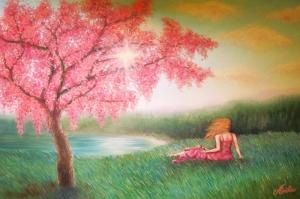 Doğa Manzarası Peyzaj Yağlı Boya Sanat Kanvas Tablo