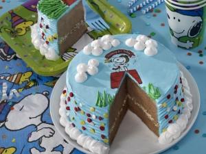 Doğum Günü Pastası Lezzetler Kanvas Tablo
