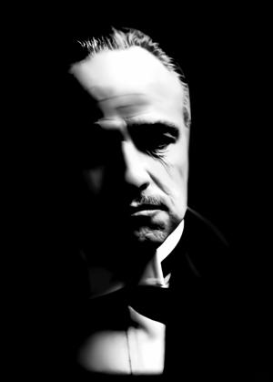 Don Corleone GodFather Popüler Kültür Kanvas Tablo