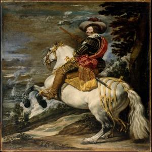 Don Gaspar De Guzman 1587–1645 Diego De Velazquez Klasik Sanat Kanvas Tablo