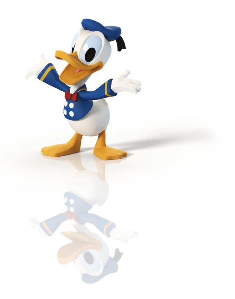 Donald Duck Bebek & Çocuk Dünyası Kanvas Tablo