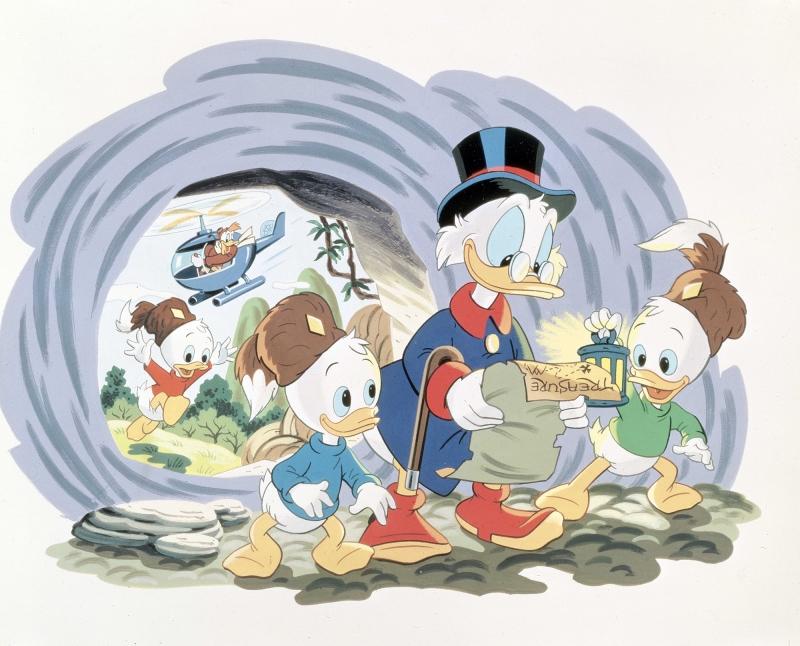 Donald Duck Varyemez Çizgi Film Bebek & Çocuk Dünyası Kanvas Tablo