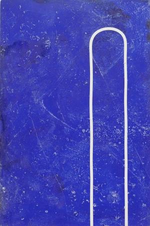 Donald Judd Mavi Yağlı Boya Klasik Sanat Canvas Tablo