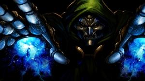 Dr Doom Marvel Kanvas Tablo