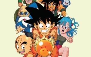 Dragonball Manga Popüler Kültür Kanvas Tablo