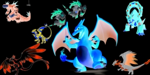 Dragonite unlu Pokemonlar 1 Canvas Tablo Arttablo