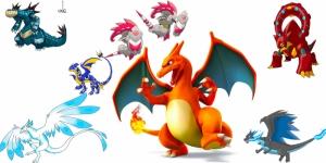 Dragonite unlu Pokemonlar Canvas Tablo Arttablo