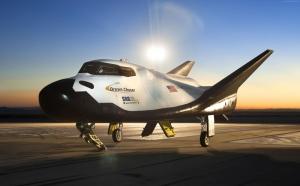 Dream Chaser Uzay Mekiği Dünya & Uzay Kanvas Tablo