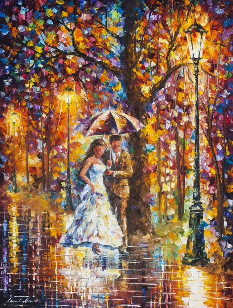 Dream Wedding Leonid Afremov Kanvas Tablo