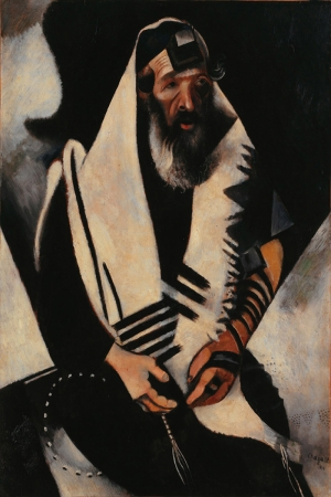 Dua Eden Musevi Marc Chagall The Praying Jew Klasik Sanat Kanvas Tablo