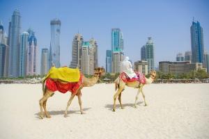 Dubai Develer Dünyaca Ünlü Şehirler Kanvas Tabloo