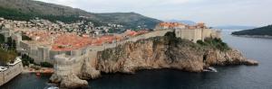 Dubrovnik Hırvatistan Sahil Deniz Doğa Şehir Manzaraları Kanvas Tablo