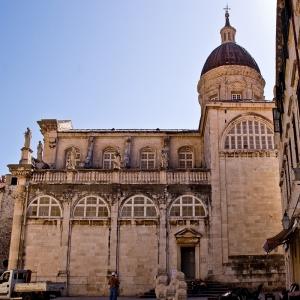 Dubrovnik Meryem Katedrali-2 Hd Şehir Manzaraları Kanvas Tablo
