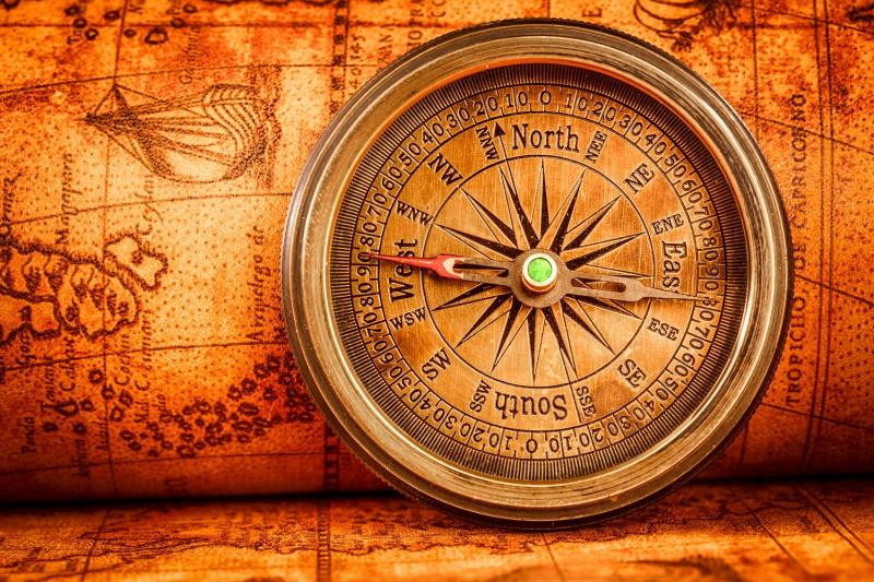 Dunya Haritasitasi ve Pusula 7 HD Goruntu Eski Cizim Dunya Haritasi Cografya Canvas Tablo